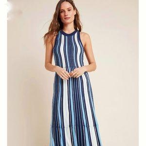 Anthropologie Maeve Lisanne Sweater Maxi Dress size XS